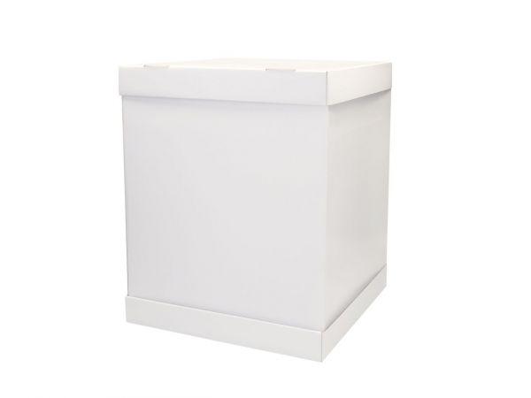 Cake-Masters Tortenkarton weiß 37x37x45cm