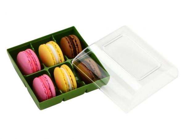 Silikomart Macaron Verpackung grün 6er GREENLINE
