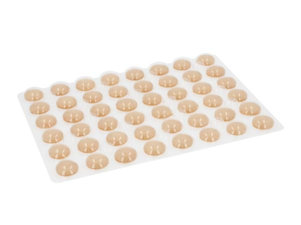 Macaron-Schalen 48 Stück gelb