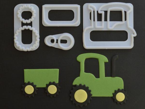 FMM Ausstecher-Set Traktor