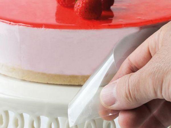 FunCakes Acetat Folie 12cm Tortenrandfolie