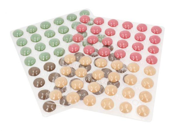 Macaron-Schalen 384 Stück bunt