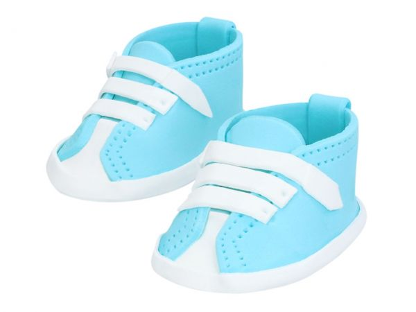 Cake Masters Feinzucker Babyschuhe blau