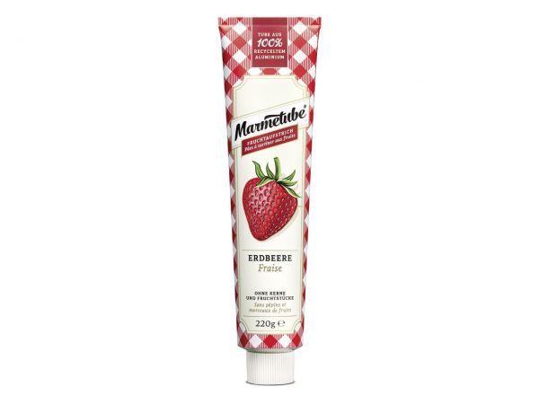 Marmetube Erdbeere 220g inkl. Tubenschlüssel