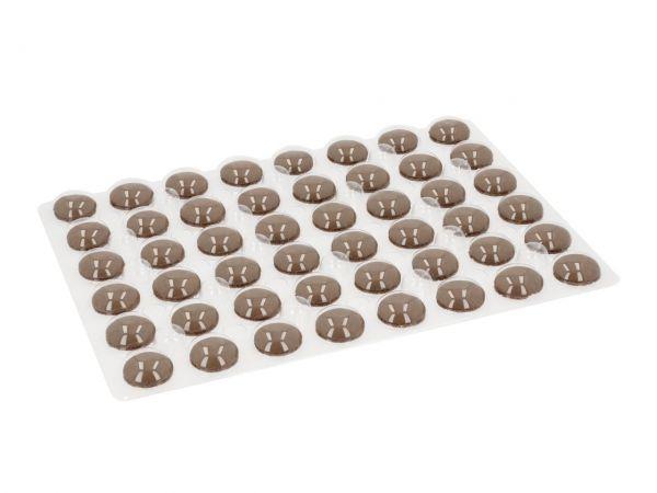 Macaron-Schalen 96 Stück braun